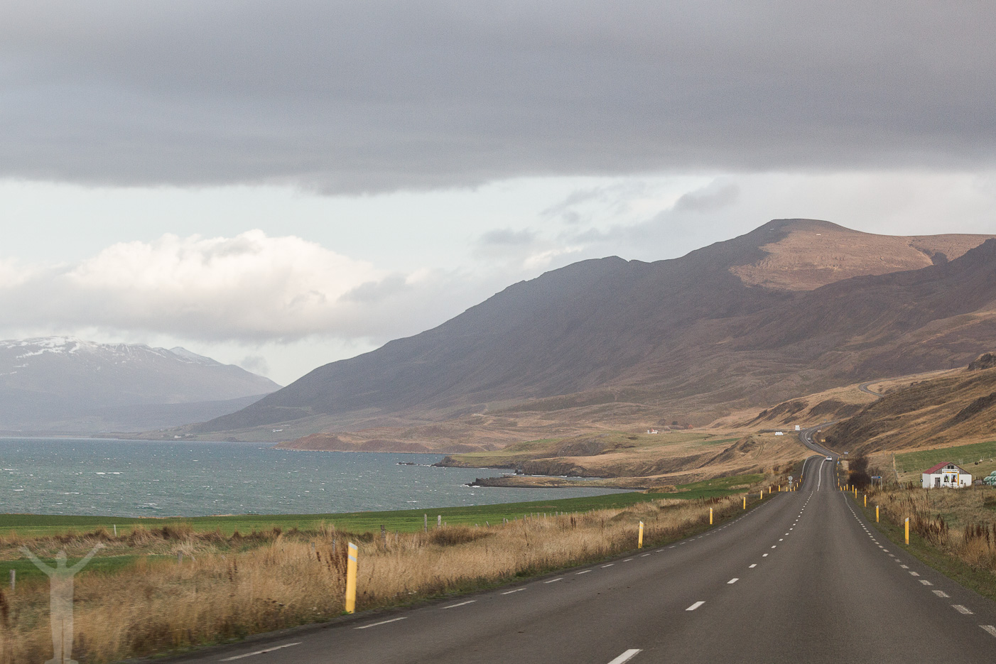 Väg utanför Akureyri