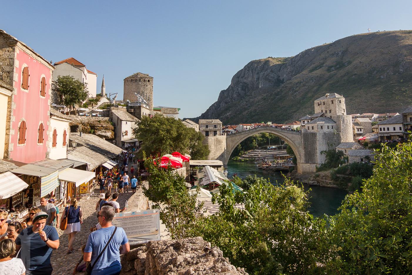 Turister i Mostar