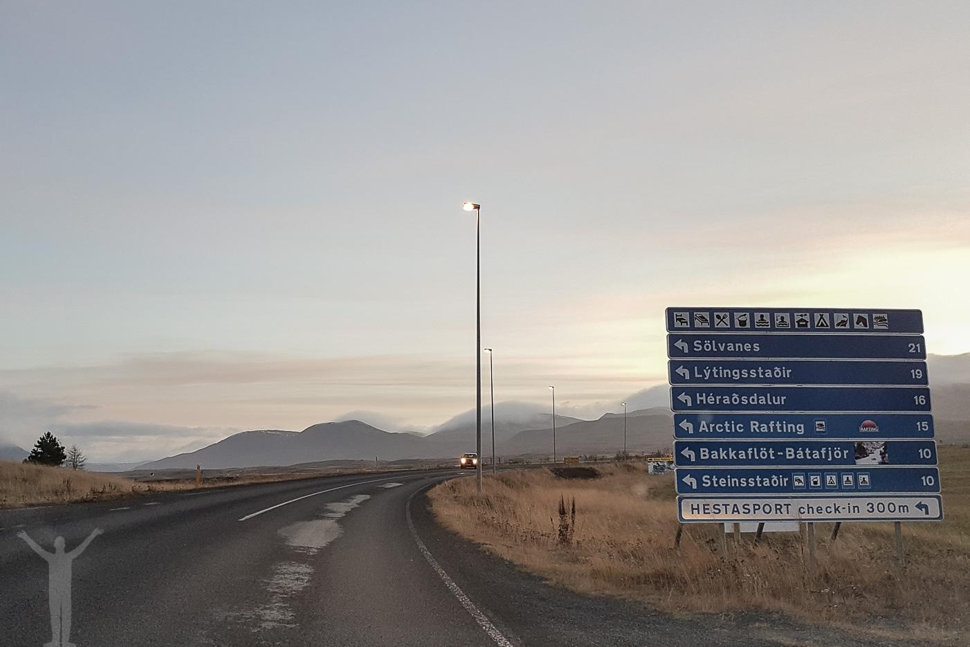 Platser att åka till på Island