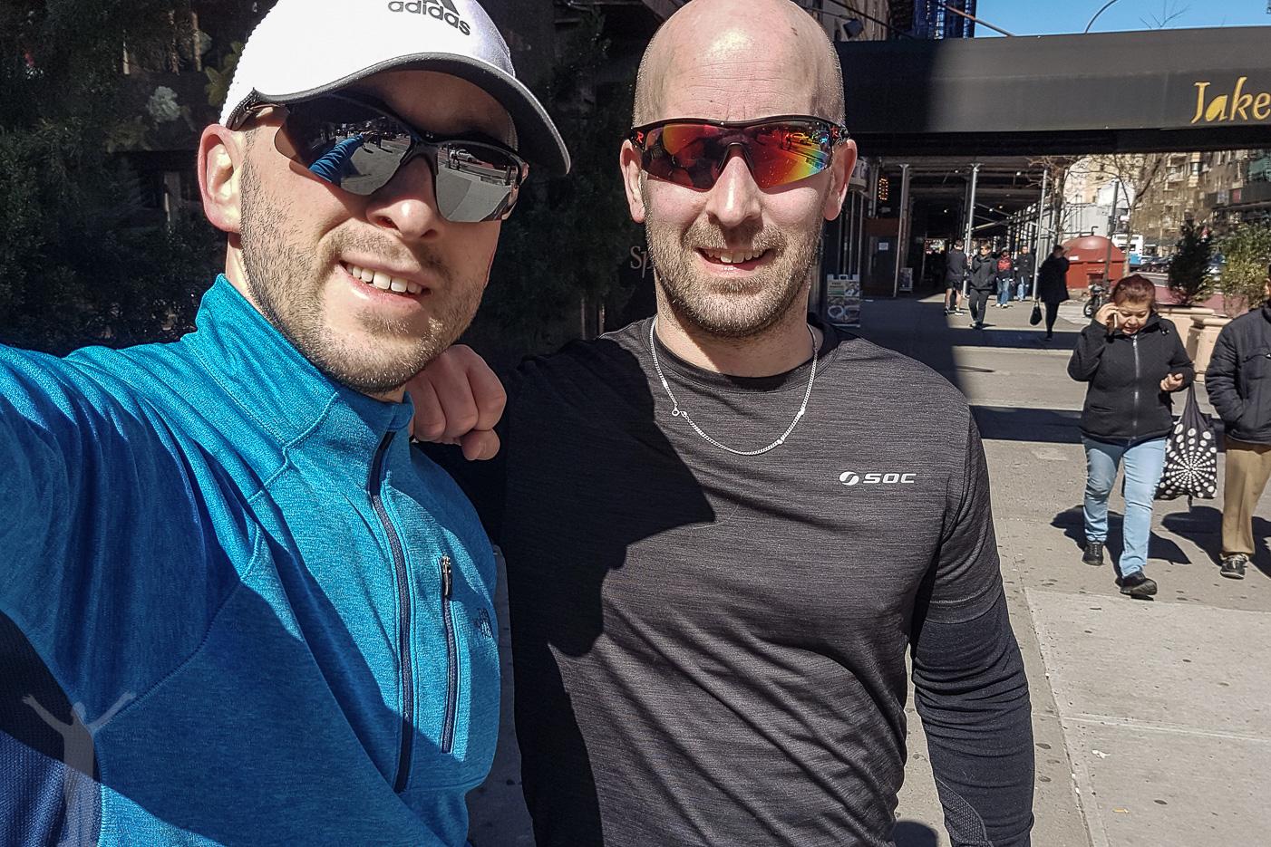Jogga i New York med min bror