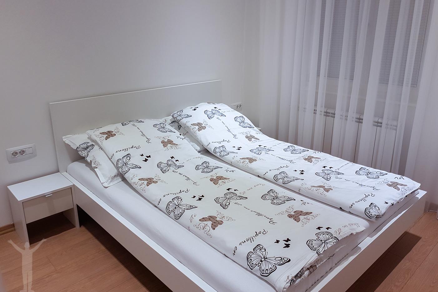 Sovrummet i Corso Apartments, Sarajevo
