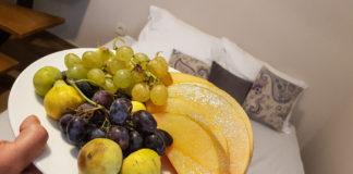 Välkomtsfrukter i Villa Divani