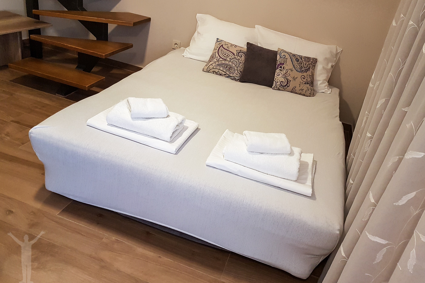 Sängar i Villa Divani, Mostar