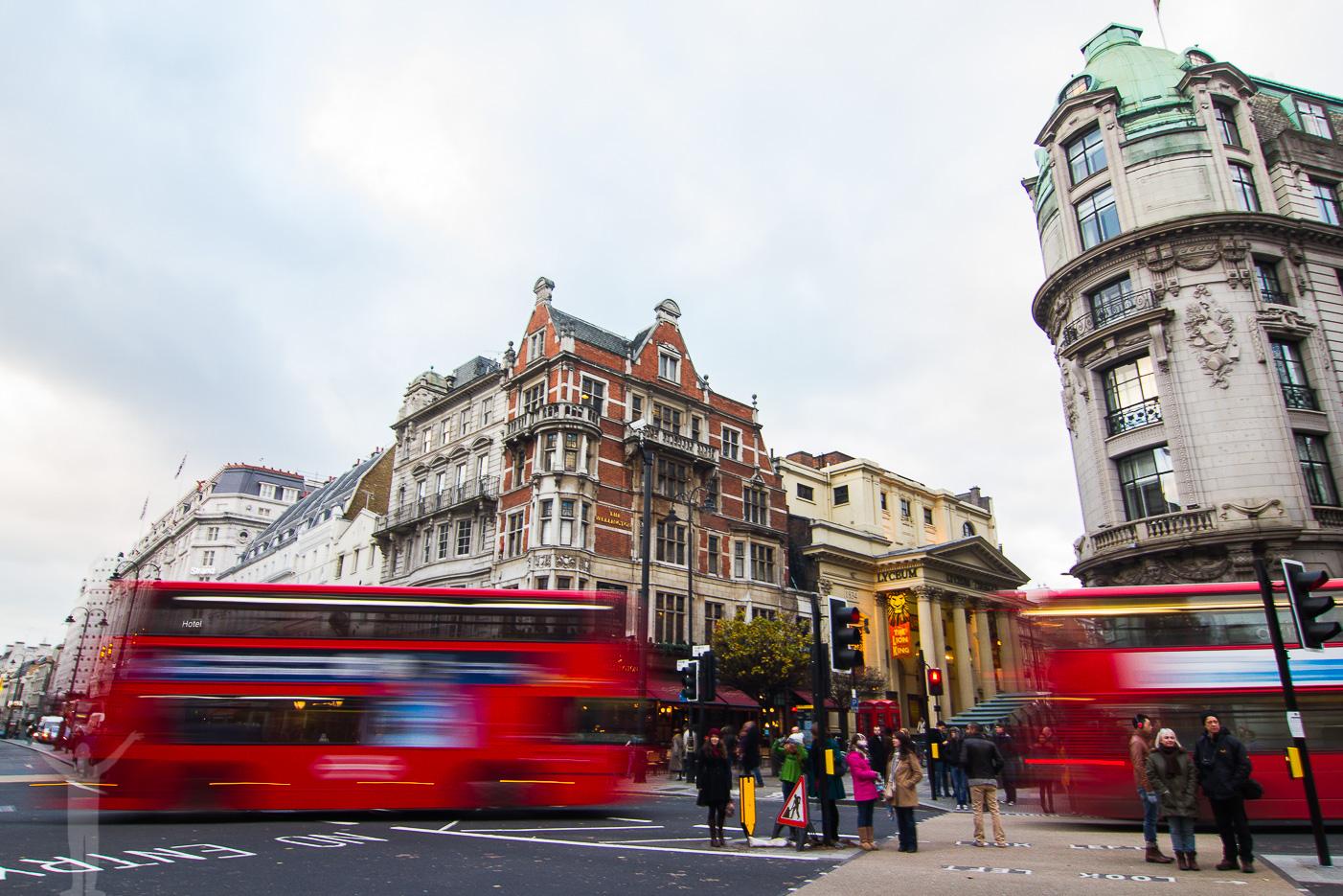 Trafik i London
