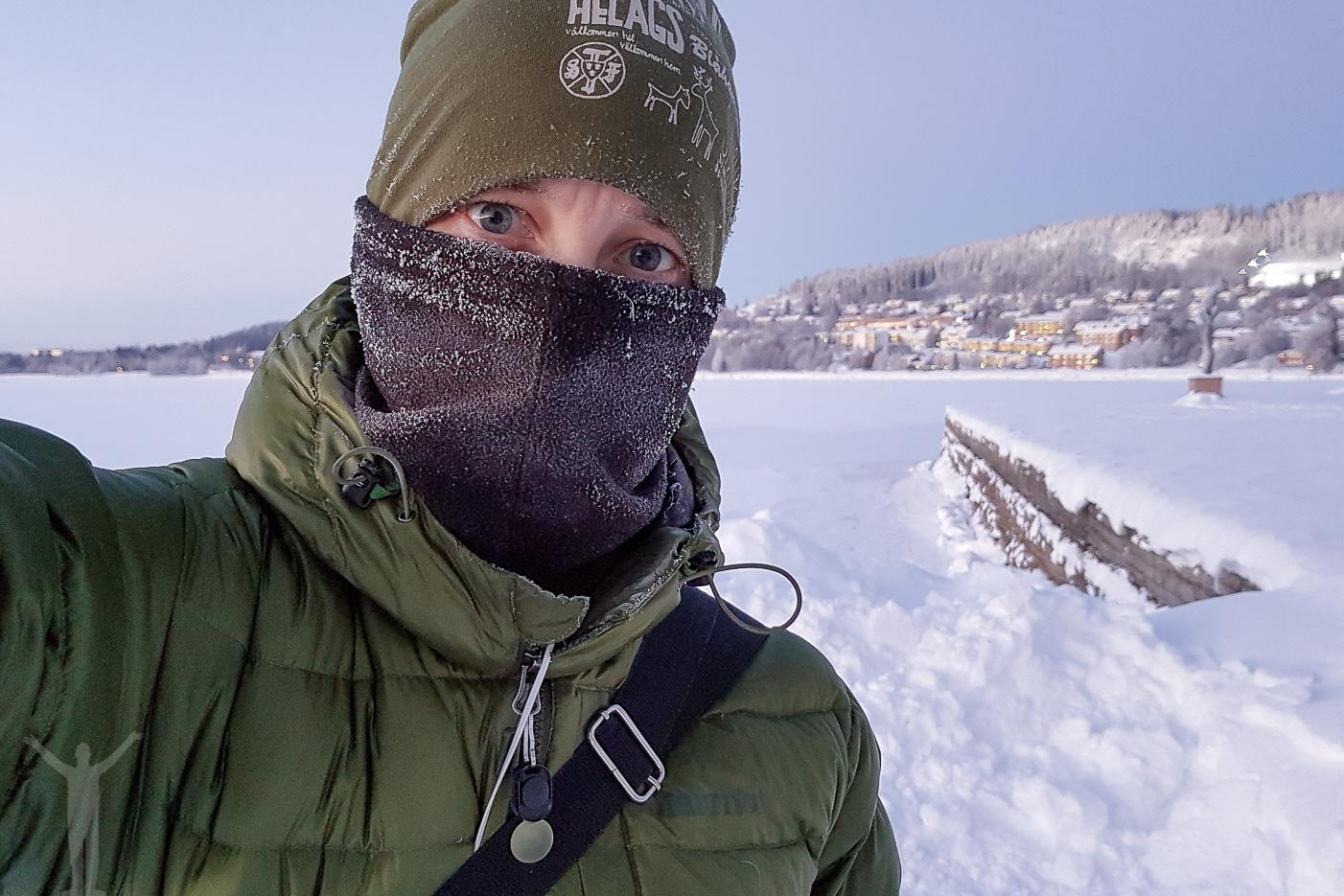 Dryden och -20°C