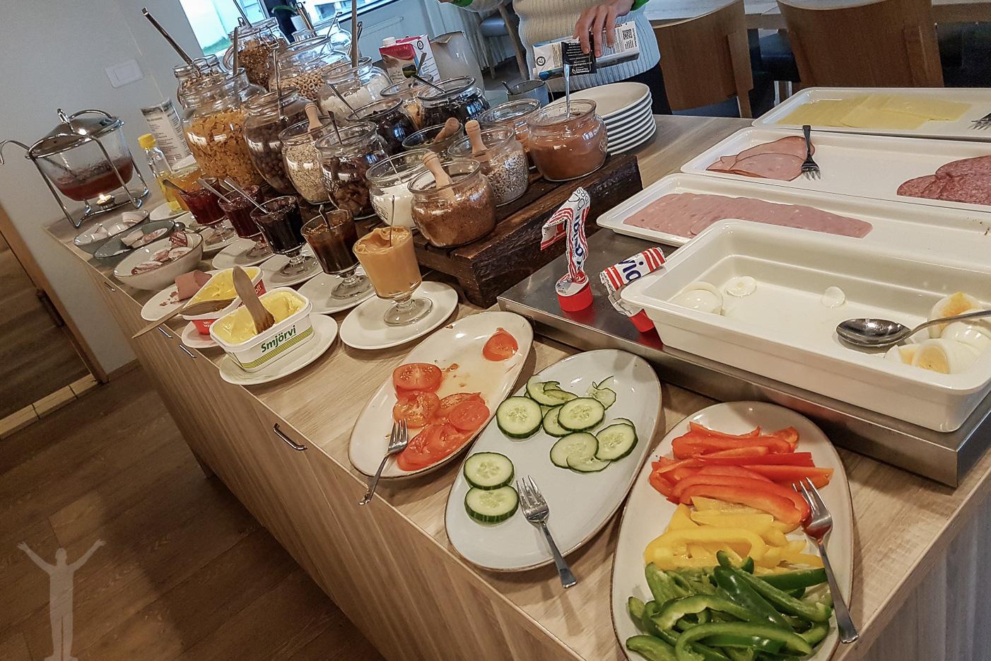 Hotel Laugarbakki - frukost