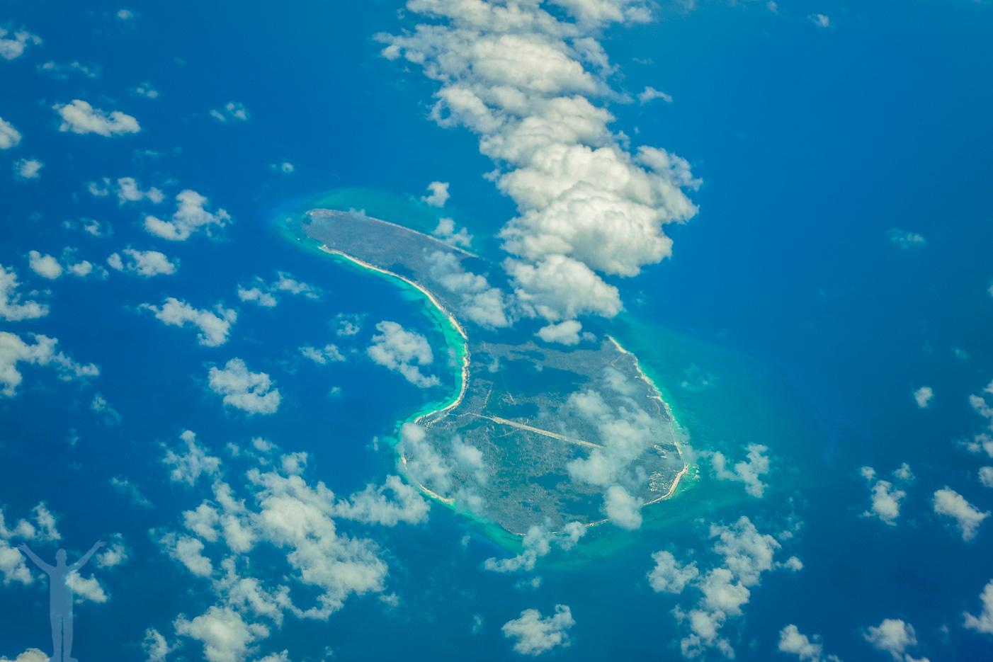 Exotisk ö i Indiska oceanen