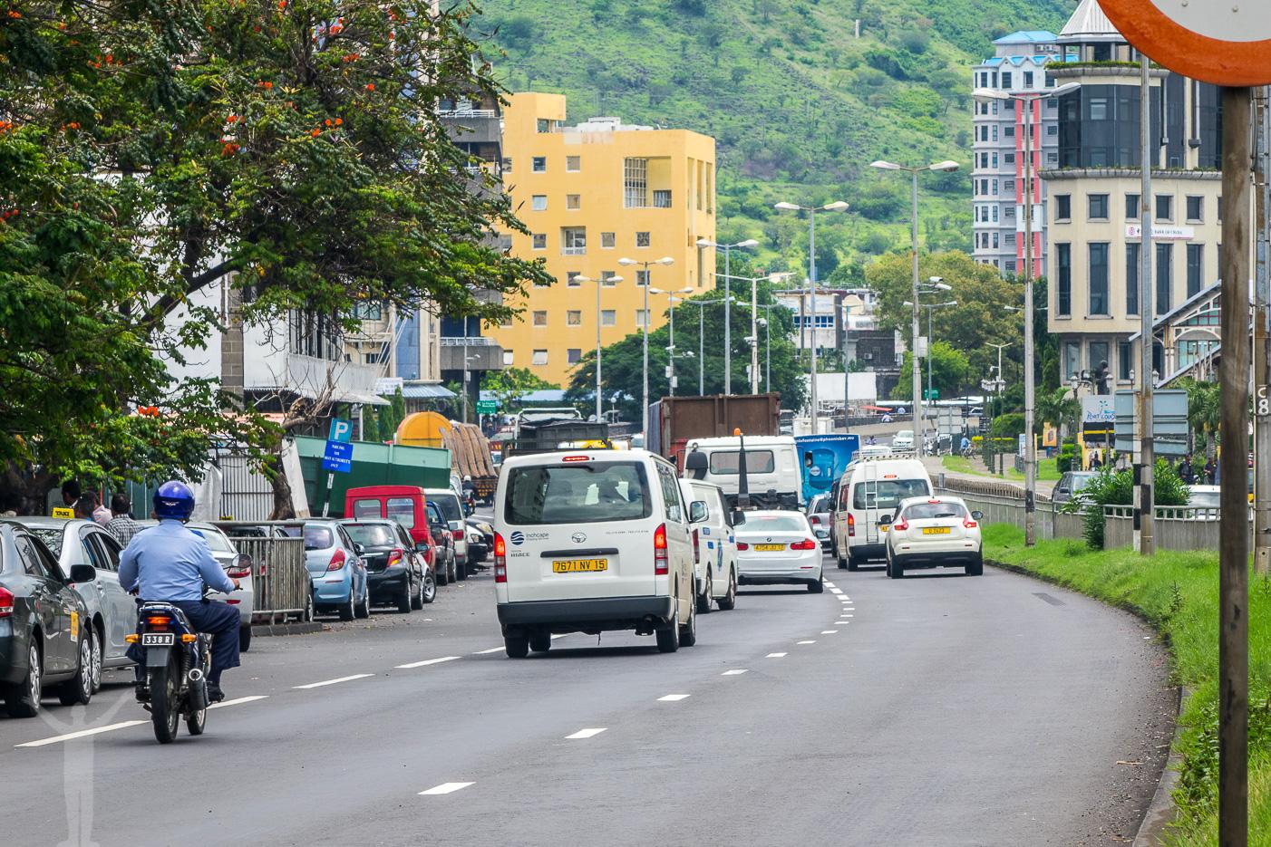 Trafik i Port Louis