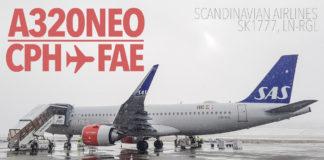 SAS A320neo CPH-FAE