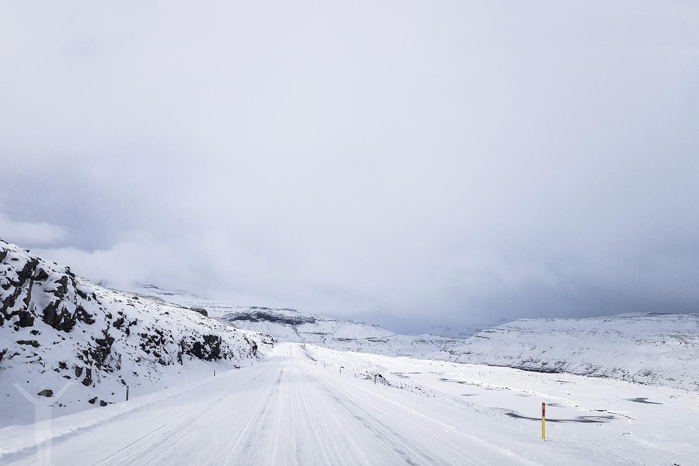 Roadtrip i vinterlandskap