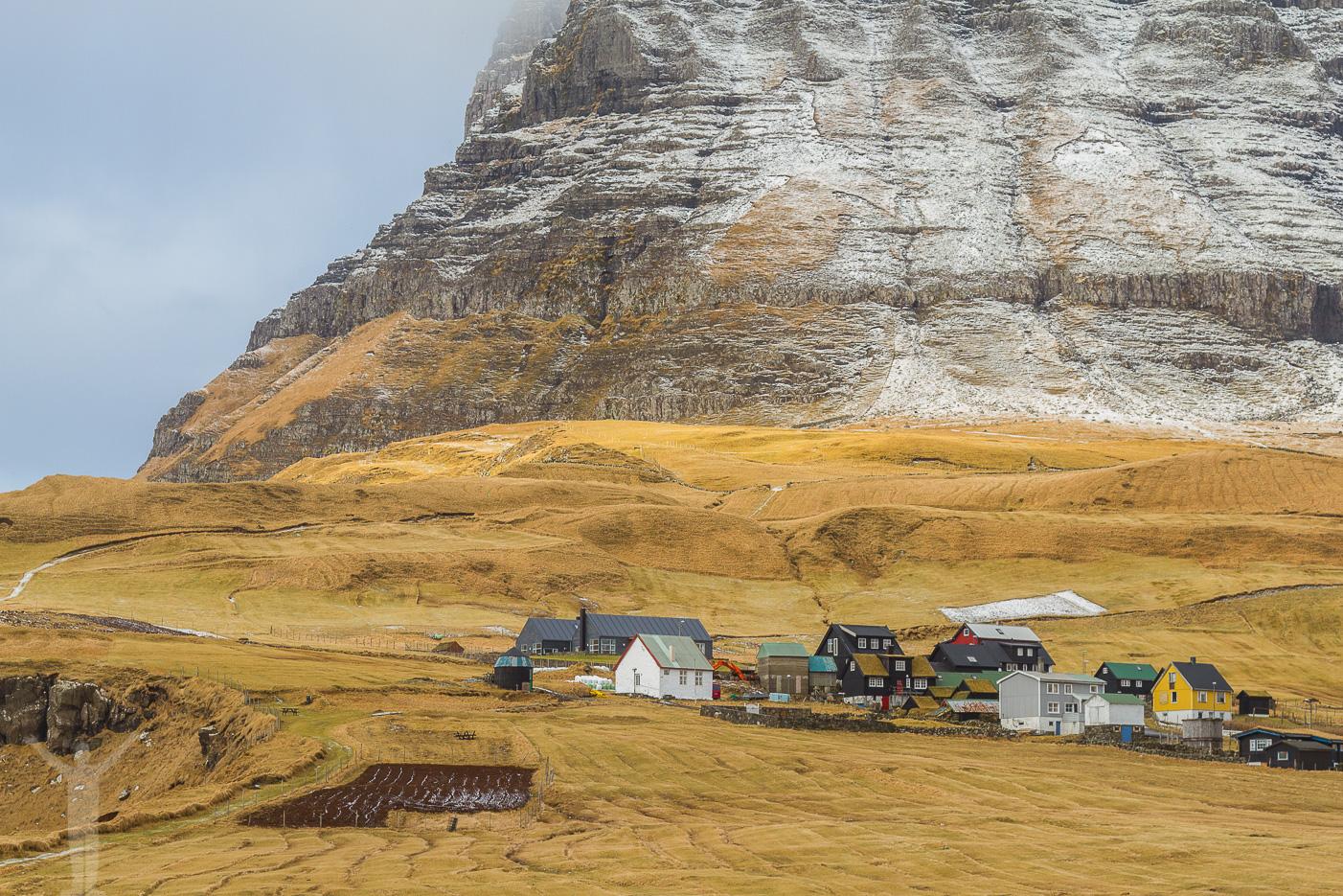 Gásadalur på Färöarna
