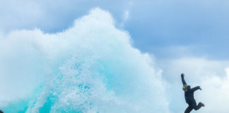 Great wave - Faroe Islands
