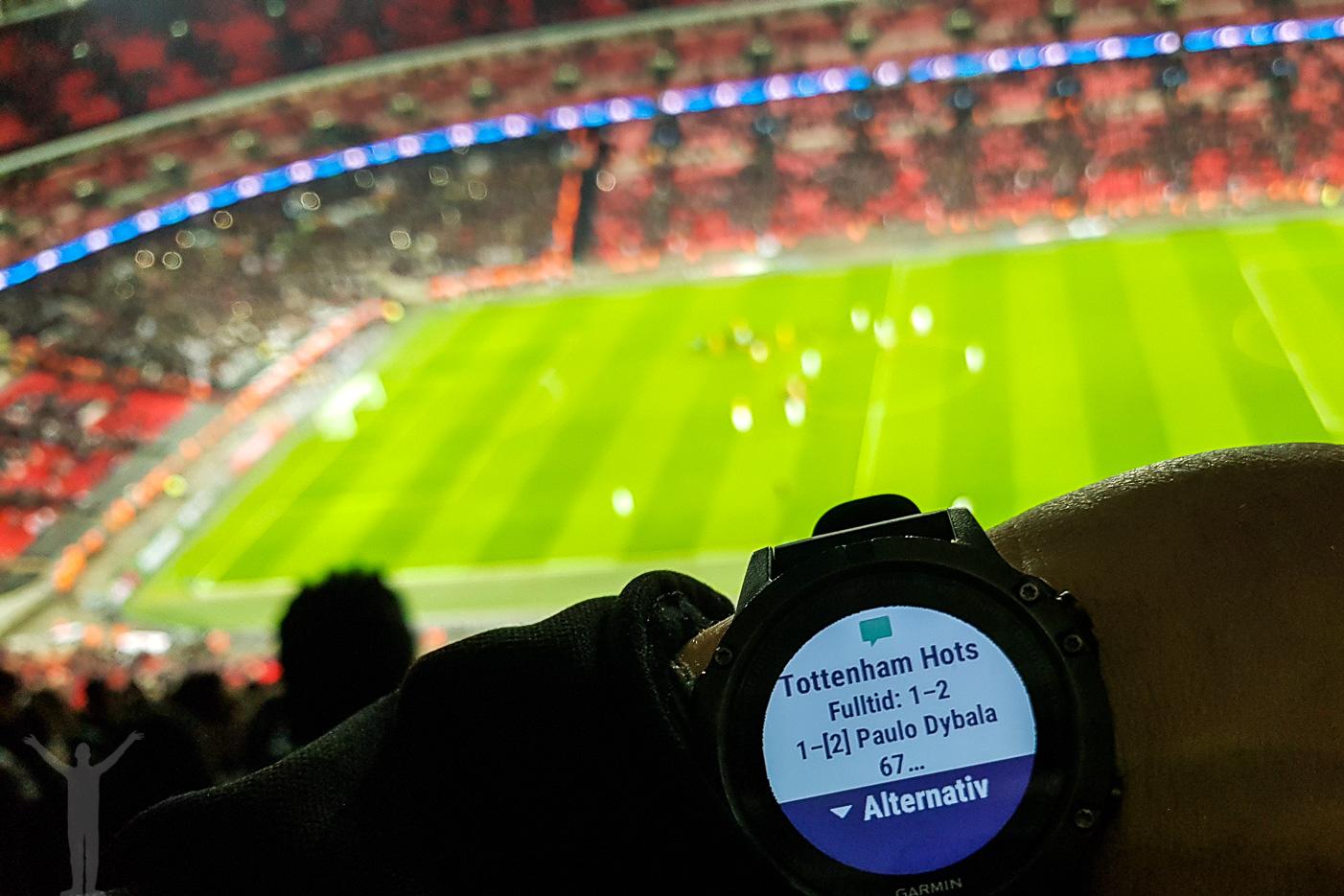 Matchen är slut - Juventus har vunnit