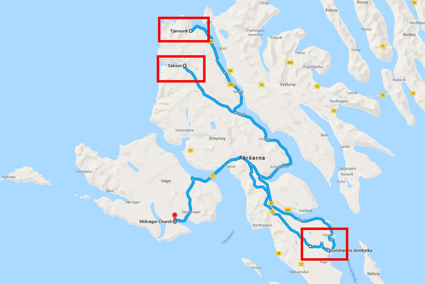 Färöarna - dag 2