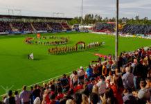 Allsvenskan på Jämtkraft Arena i Östersund