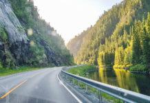 Skalstugevägen över till Norge