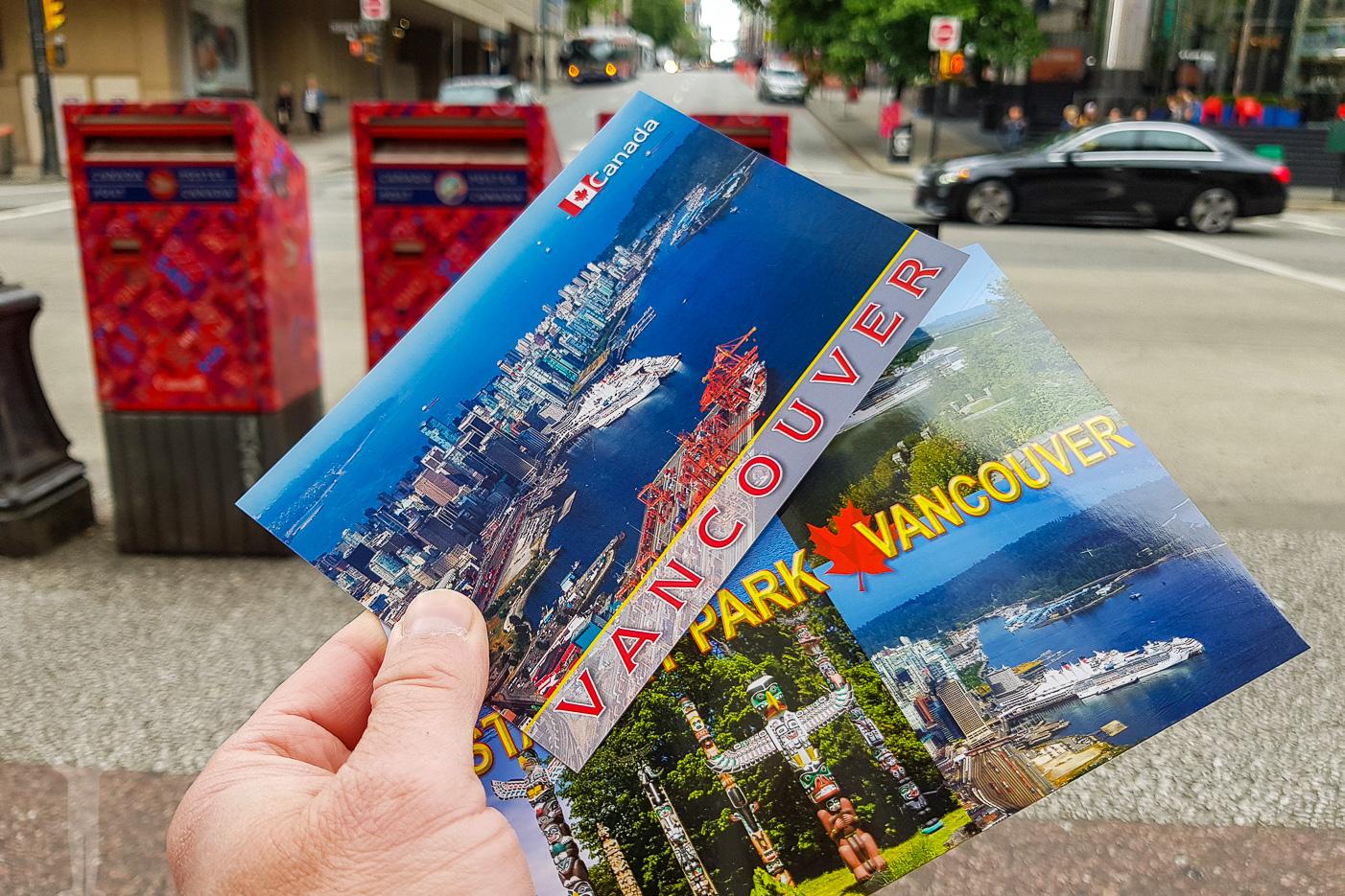 Vykort från Vancouver