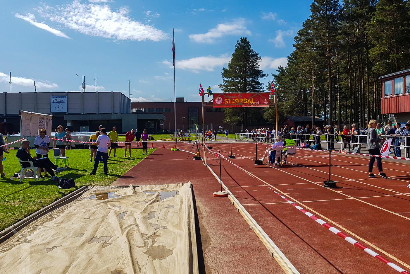 Starten i Stjørdal