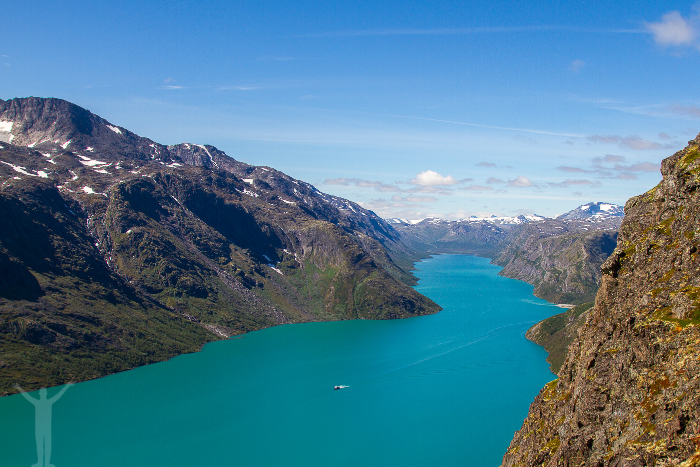 Besseggen, vandringsled i Norge.