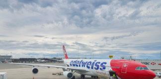 Edelweiss Air A340-313 HB-JME YVR-ZRH