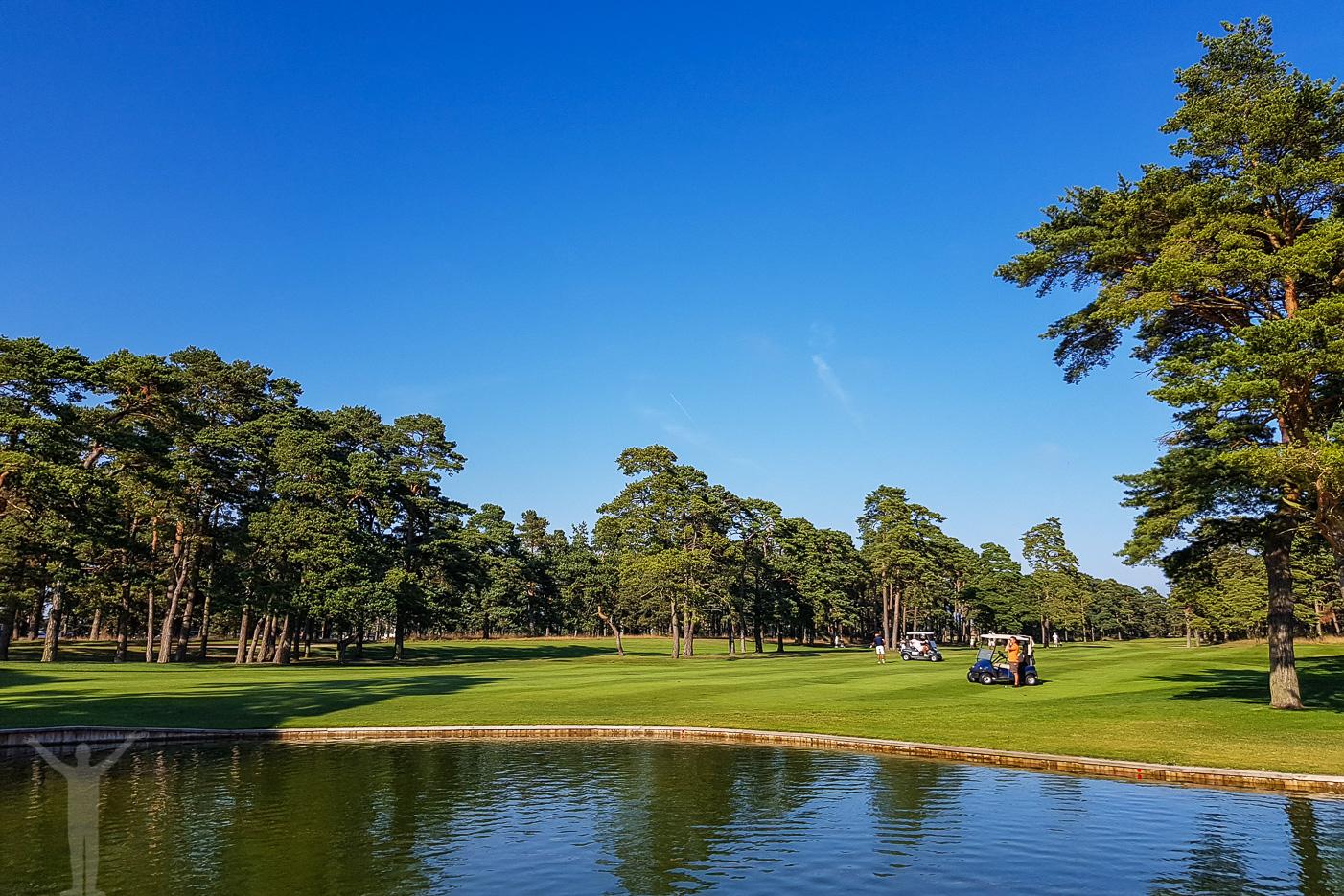 Golf med vattenhinder - Åhus och Kristianstad