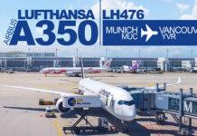 Lufthansa LH476 MUC-YVR
