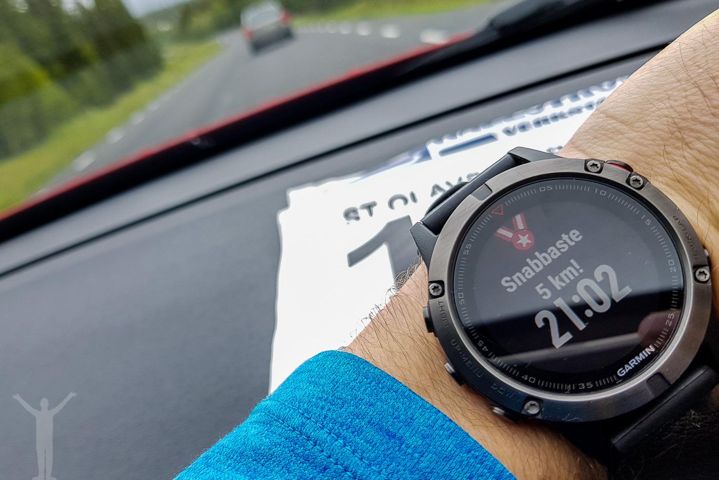 Min snabbaste 5km