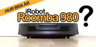 Test av iRobot Roomba 980