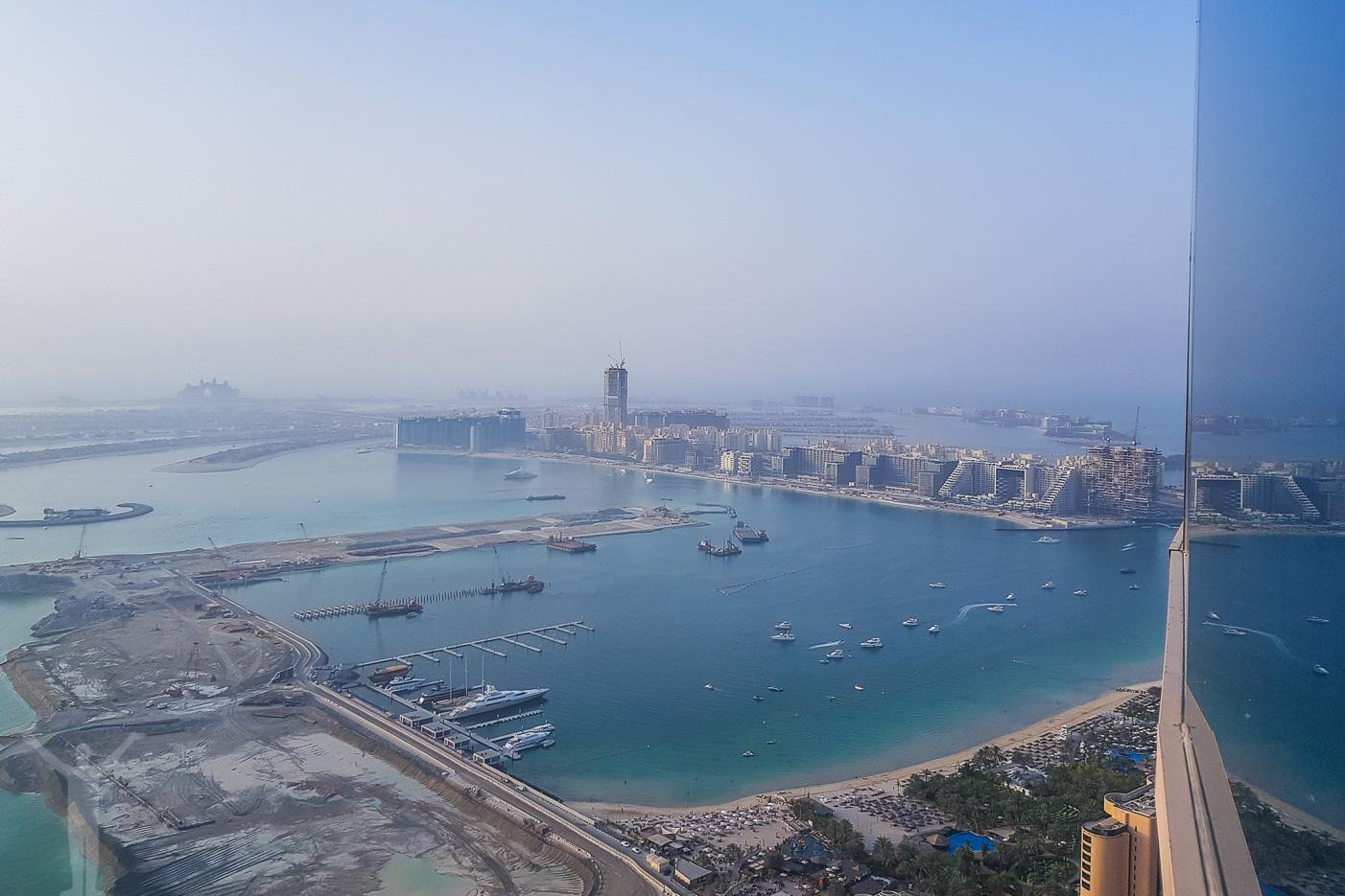 Min guide till Dubai Marina - avsluta med middag på Marriott Hotell i Dubai Marina
