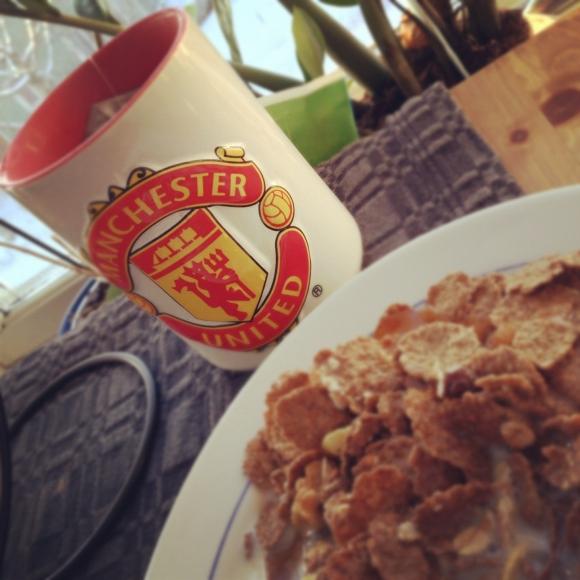 Söndagsfrukost.
