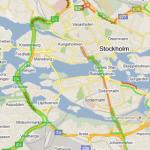 Kartor: Visa trafiken