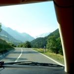Alpväg söderut