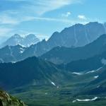 Alperna, vid Saint Bernad-passet