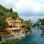 Portofino, söder om Genua