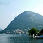 Lugano, södra Schweiz