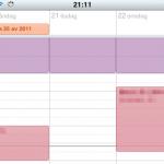 Kalendern har fått veckovy!