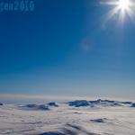 Toppen med en enastående vy över Storulvån, Helags, Sylarna, Åre. 360° livskvalitet!