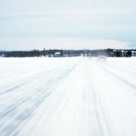 Isvägen Sunne-Vällviken. Foto: Martin Engström