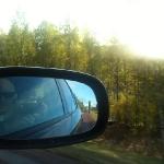 Solen skiner i Värmland.