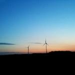 Vindkraftverk på Dal.