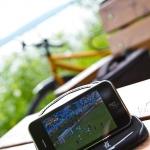 Cykeltur, fotografering - och fotbolls-VM