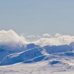 Njutbar utsikt på toppen - Sylarna!