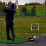 Säsongens sista golf