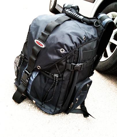 Livet på resande fot - i en väska