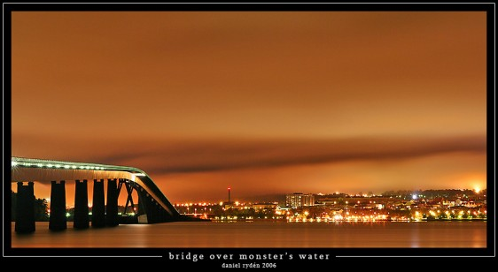 Bridge over monster's water