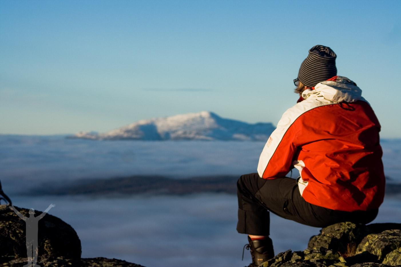 Utsikt från Hottögsfjället - Åreskutan