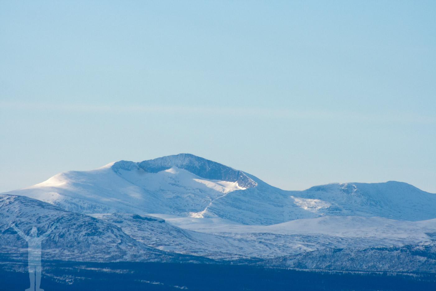 Utsikt från Hottögsfjället - Helags