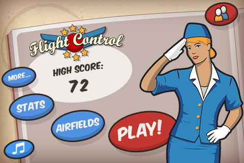 FlightControl - main screen