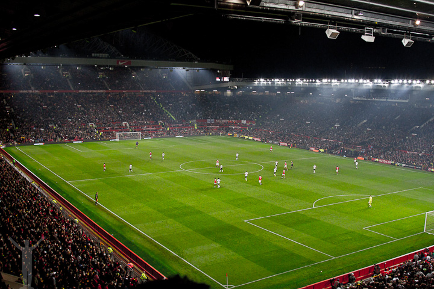 Old Trafford i Manchester