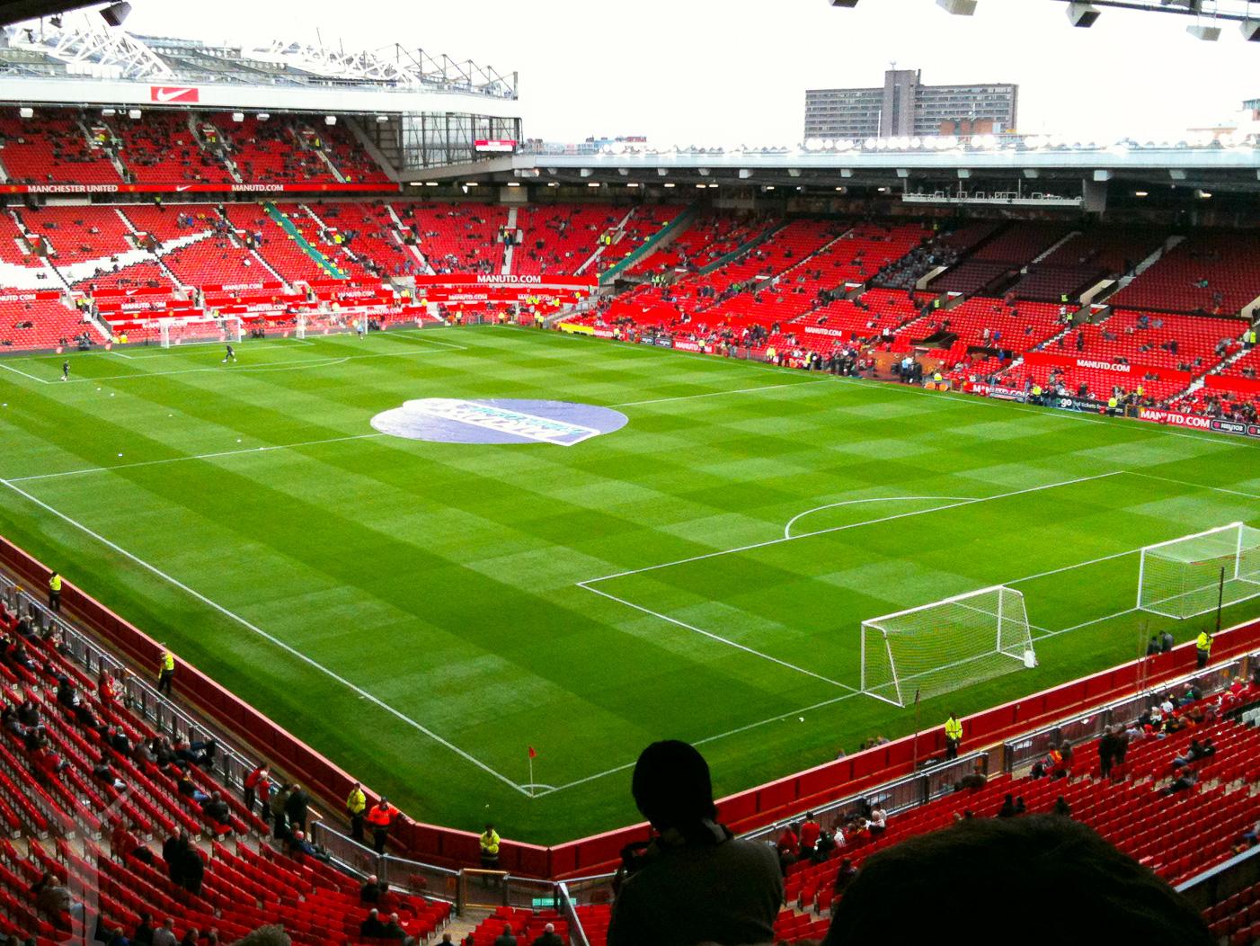Manchester och Old Trafford